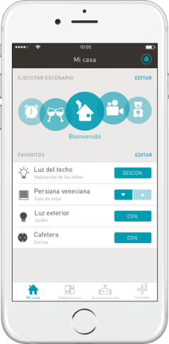 Smartphone App – eNet SMART HOME_ES